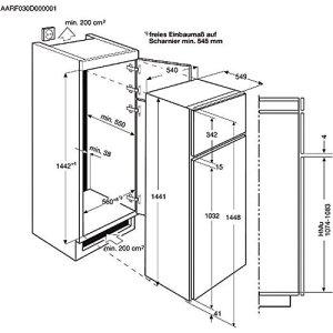 AEG - Combine refrigerateur-congelateur - AEG COMBI TOP SDS51400S0