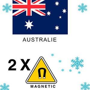2 x Magnet Frigo AIMANT Magnétique pays AUSTRALIE