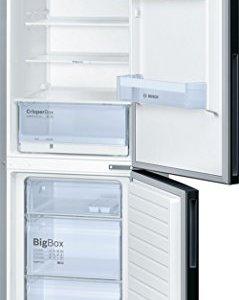 Bosch KGV36VB32S réfrigérateur-congélateur - réfrigérateurs-congélateurs (Autonome, Bas-placé, A++, Noir, SN, N, ST, T, LED)