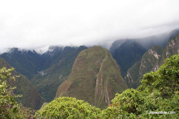 Andes mountains near Machu Picchu