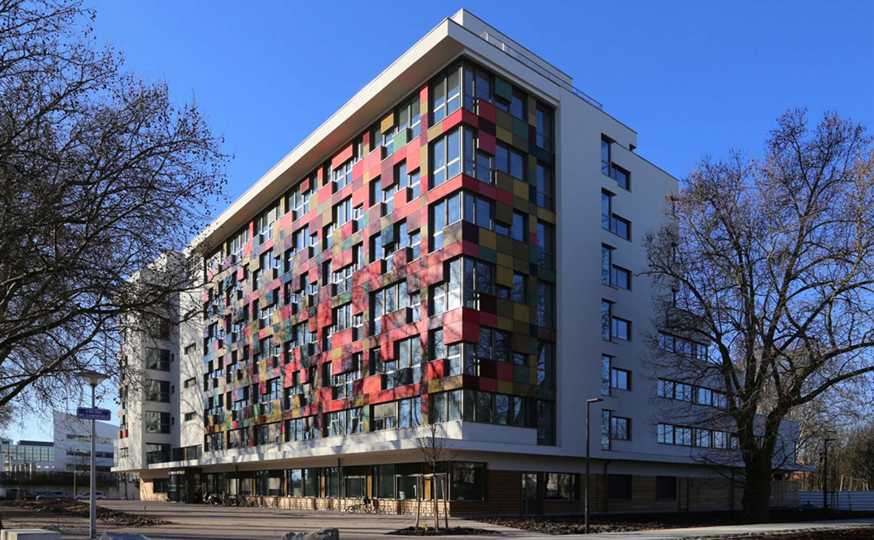 Mongiello  Plisson  Sige de CUS Habitat et dHabitation Moderne  Strasbourg  Vues
