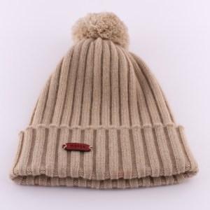 Mütze aus Kaschmir in Beige von mongs®