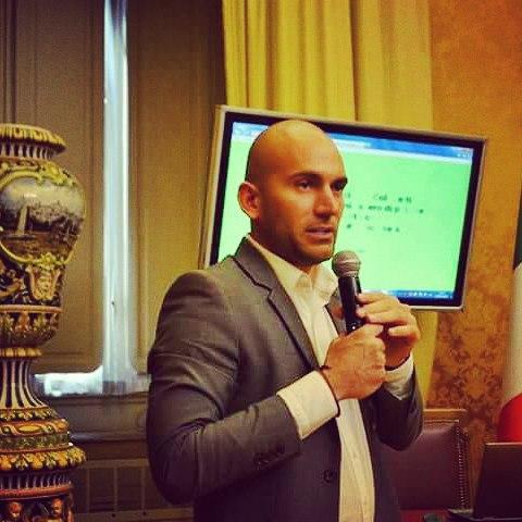 Diego Mulfari a Montecitorio