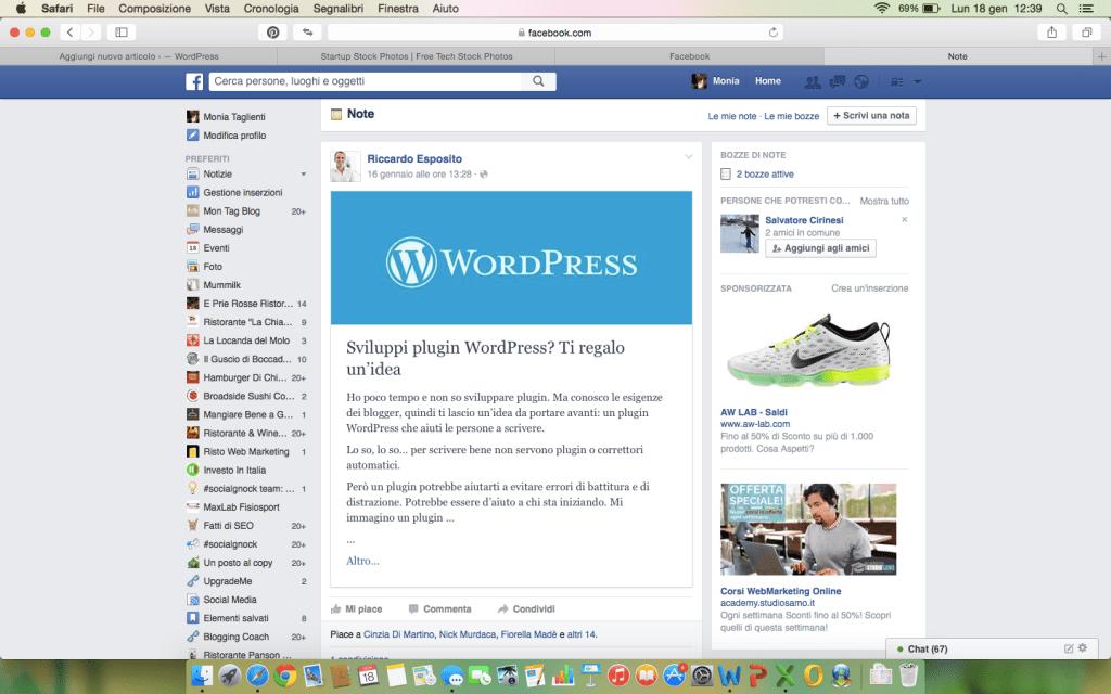Facebook e le PMI