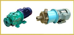 Seal Less Magnetic Driven Pump