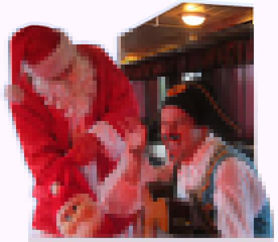 Firma jõulupidu laevas Monica on seiklusrikas