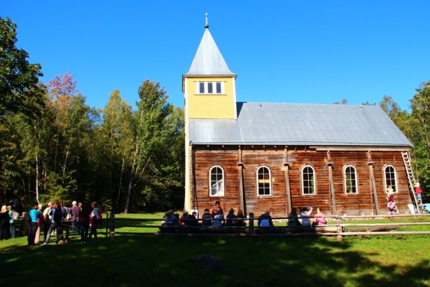 Naissaare kirik, september 2014