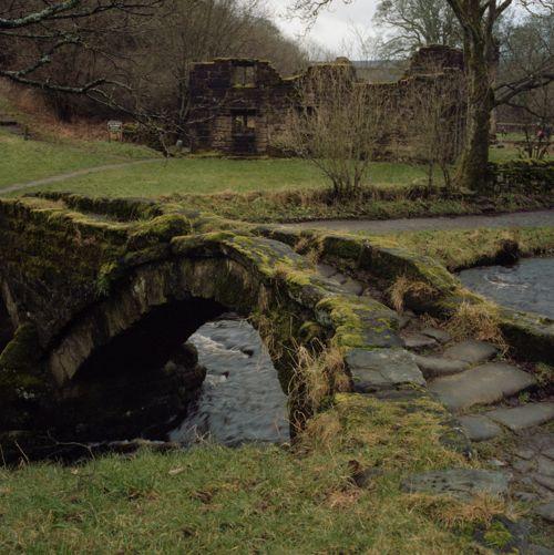 Ancient Stone Bridge, Lancashire, England
