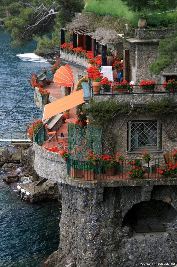 Seaside House, Portofino, Italy