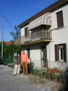 Monica and Chris, your hosts in Italian Homestay
