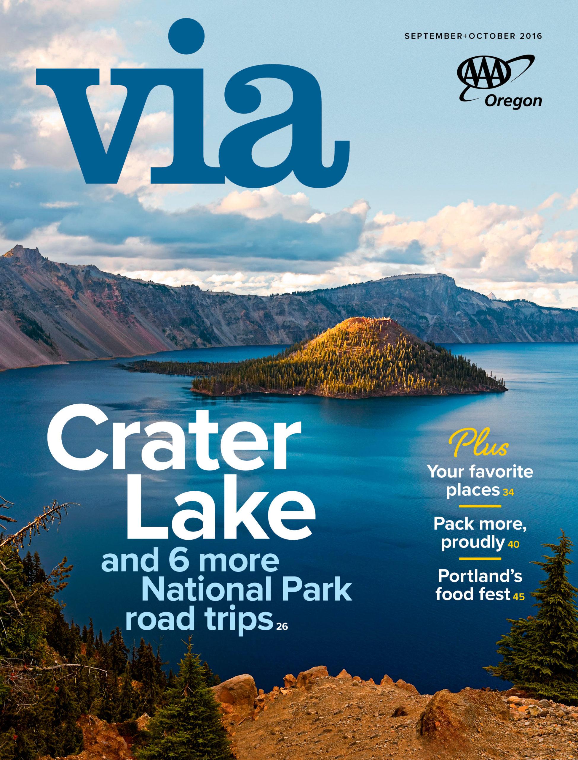 September+October 2016 Via cover
