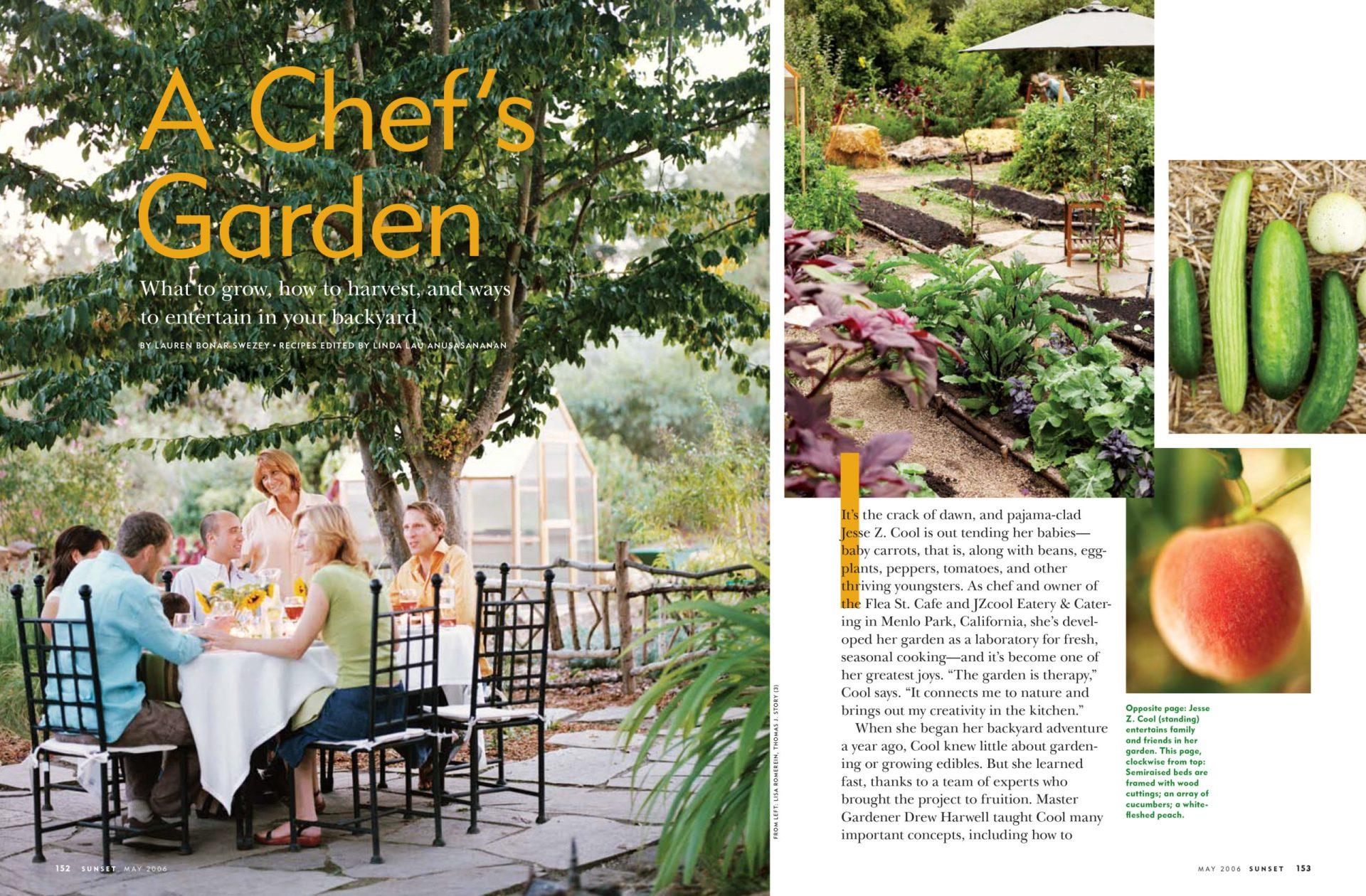 A Chef's Garden spread