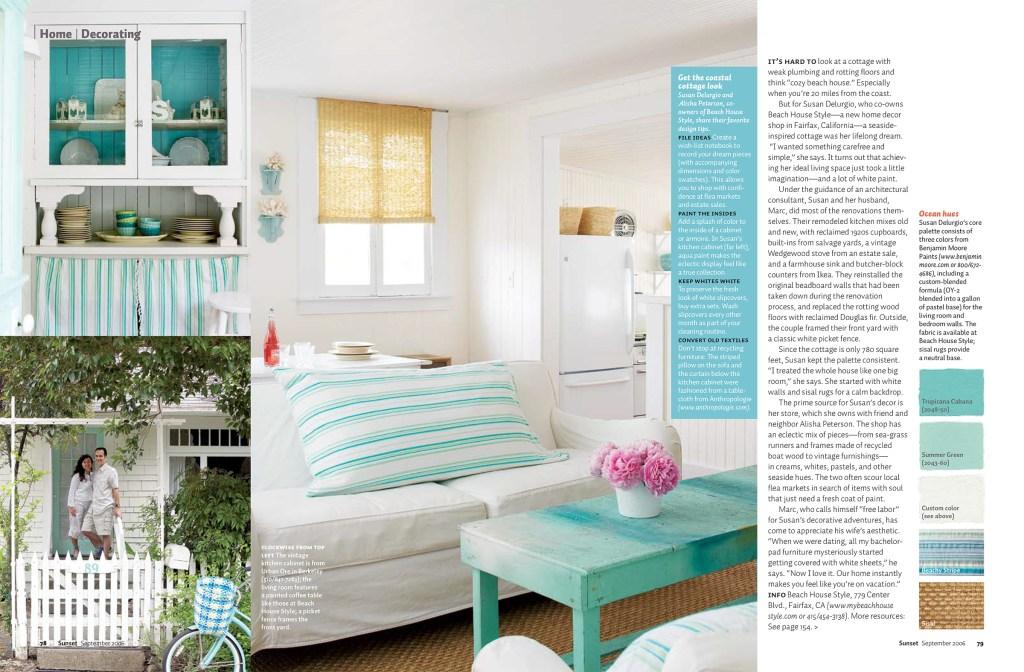 Coastal Cottage page