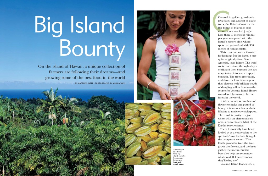 Big Island Bounty spread