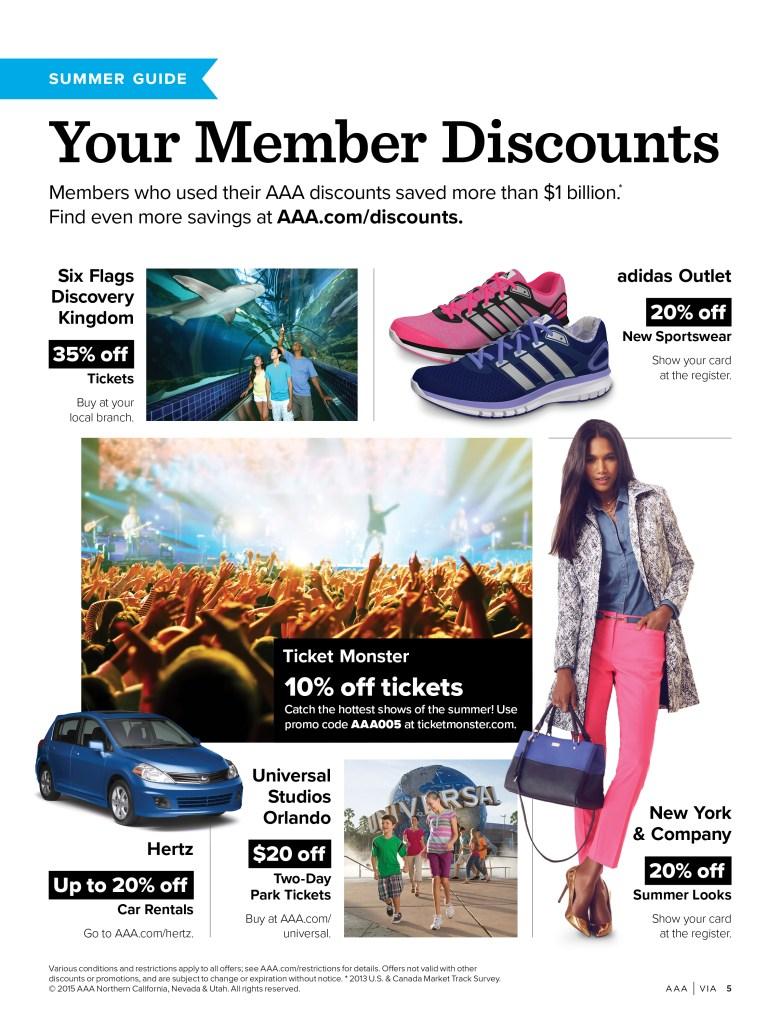 Member Discounts ad