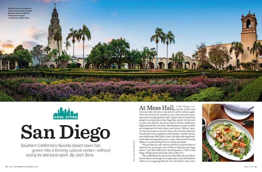 San Diego spread
