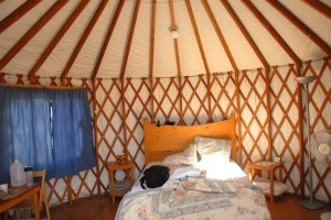 We stumbled upon this yurt accidentally at a Hot Springs spa in Colorado and were able to stay the night at an AMAZING discount, thanks to Jeremiah, the friendly desk attendant.