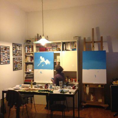 My cosy studio in Milan.
