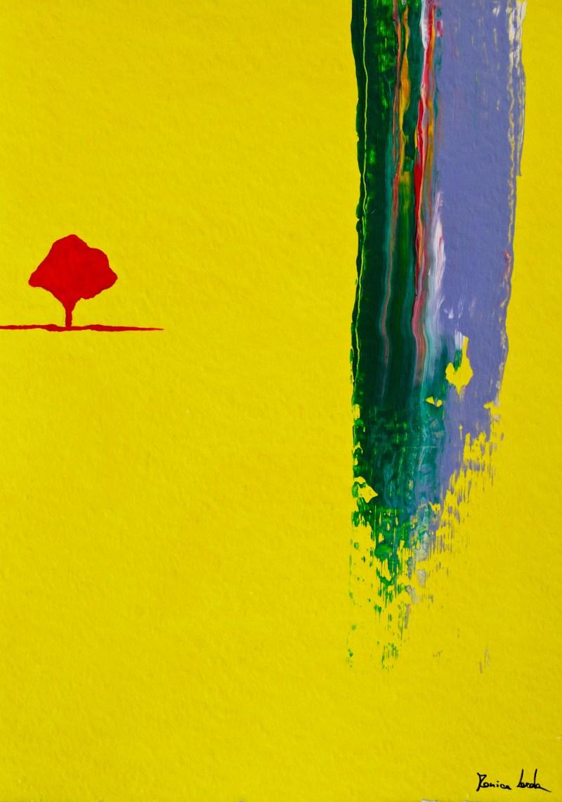 Abstract landscape | Monica Lerda | 1