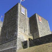 O Castelo de Dover em Kent, o jardim da Inglaterra