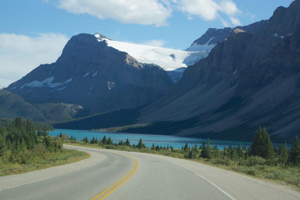 """Icefields Parkway, a """"estrada mais bonita do mundo"""""""
