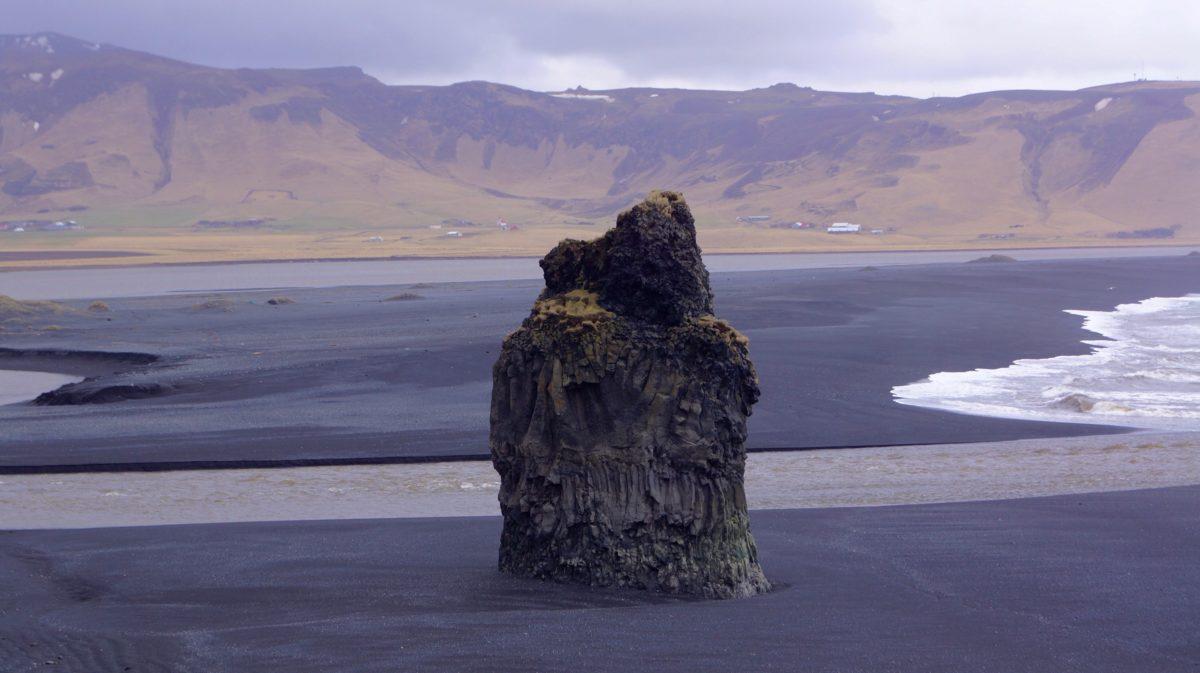 O Hotel Rangá, a cidade de Vik e a Black Beach. Sul da Islândia