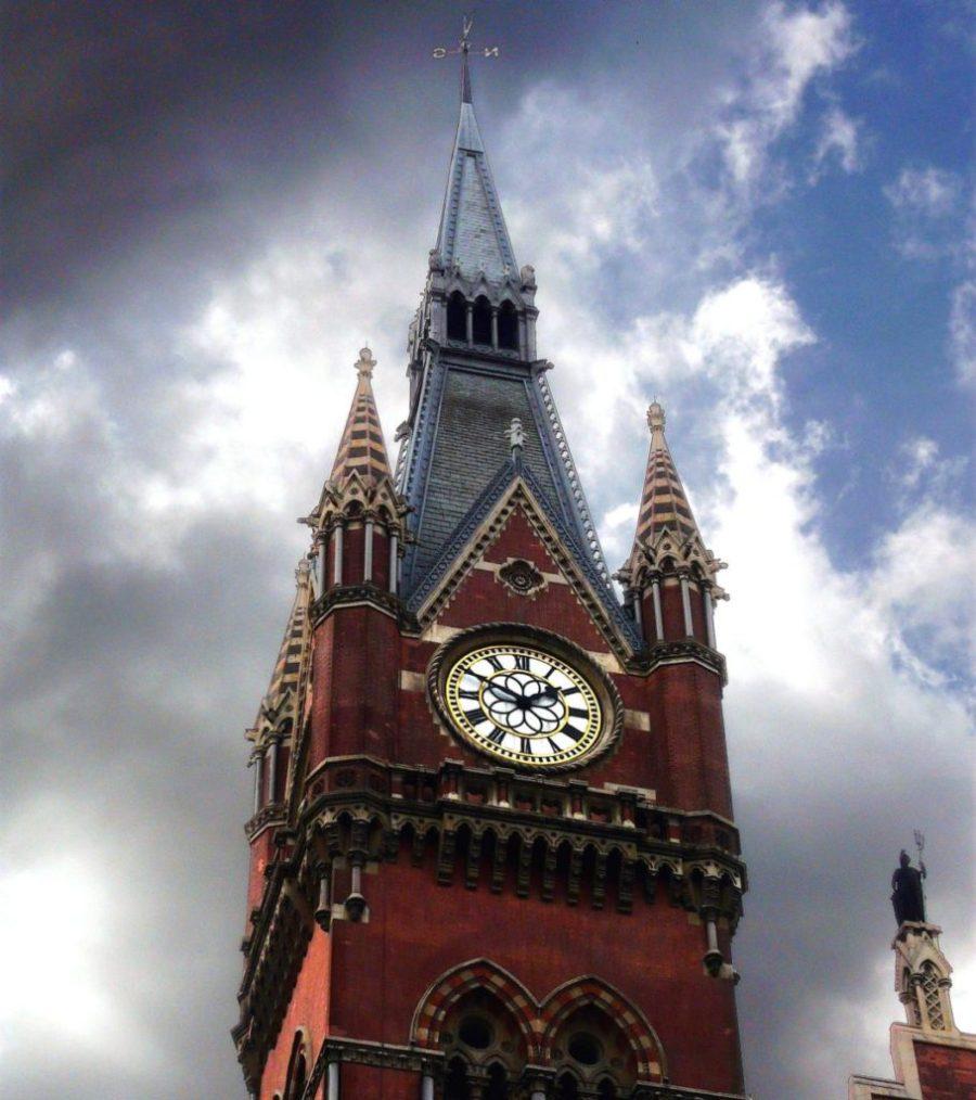 St_Pancras_Clock, Eurostar