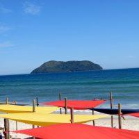 Restaurantes Chapéu de Sol e Badauê. O melhor da bela praia de Juquehy