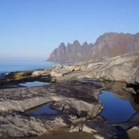 Noruega do Ártico e da Aurora Boreal, sua bela paisagem e Arquitetura