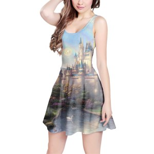 RainbowRules Castle Dress