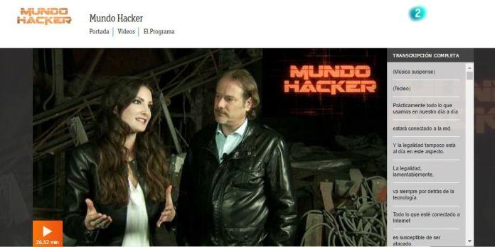 mundo hacker la 2 a la carta