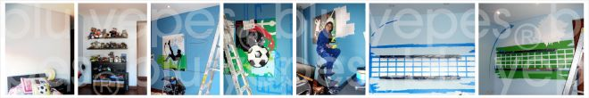 Sports Mural - Sport Room Wall Design