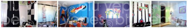 Kids Wall Design by Blu Yepes-Wall Murals NYC-Children Murals by Monica Yepes