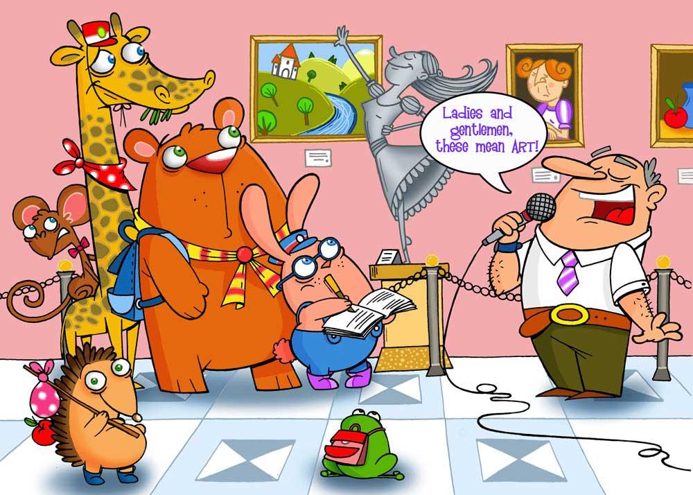 Museum Of Animals Childrens Book Illustrator Tale