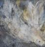Häutungen I – Marmormehl, Knochenleim, Pigmente, Tuschen – 40 x 40 cm