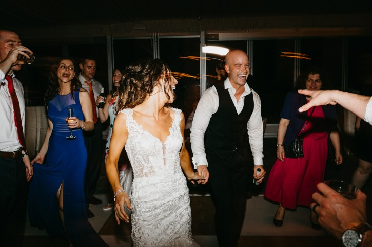 Lowndes Grove Plantation Wedding party