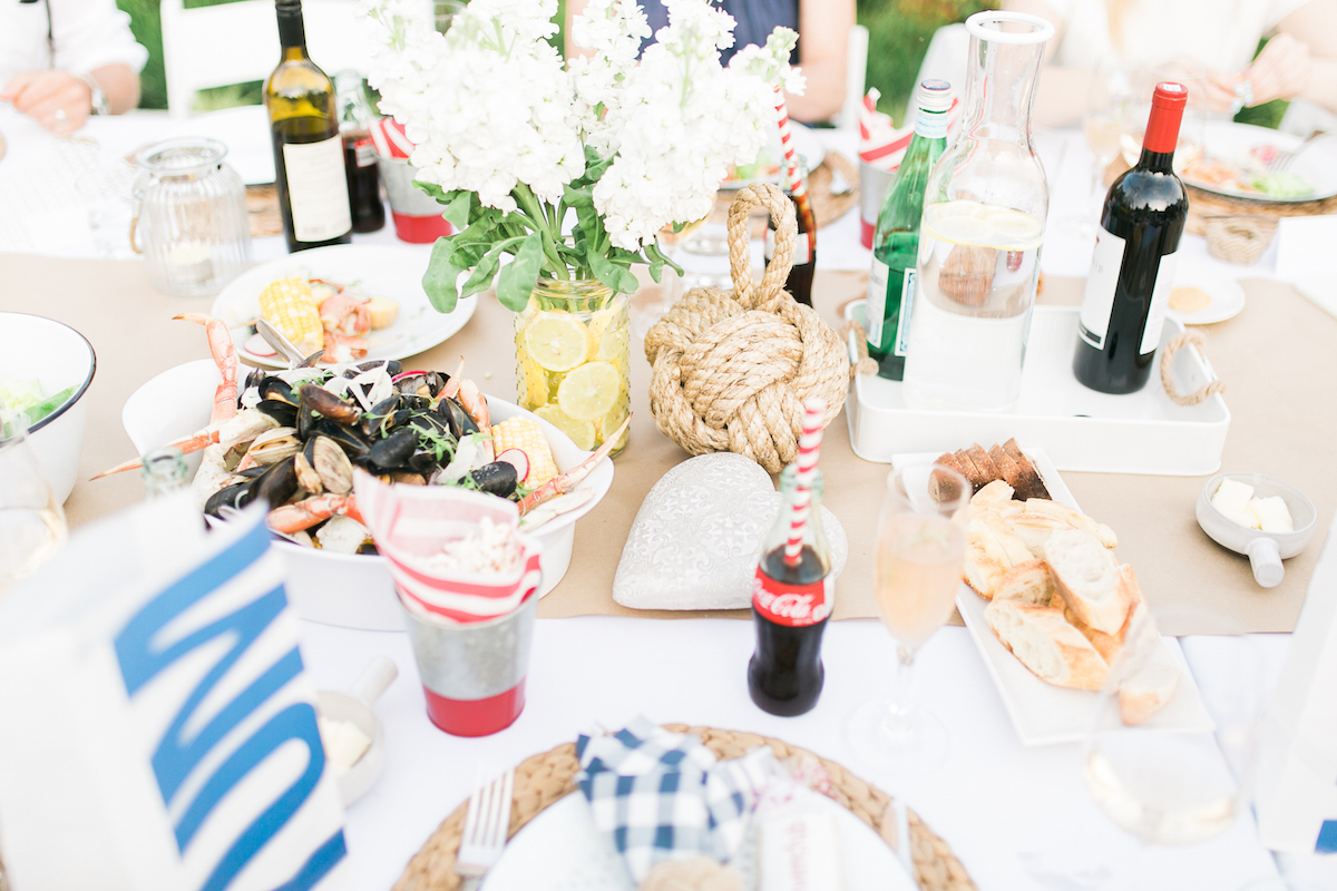 Clam Bake Dinner Party  Monika Hibbs
