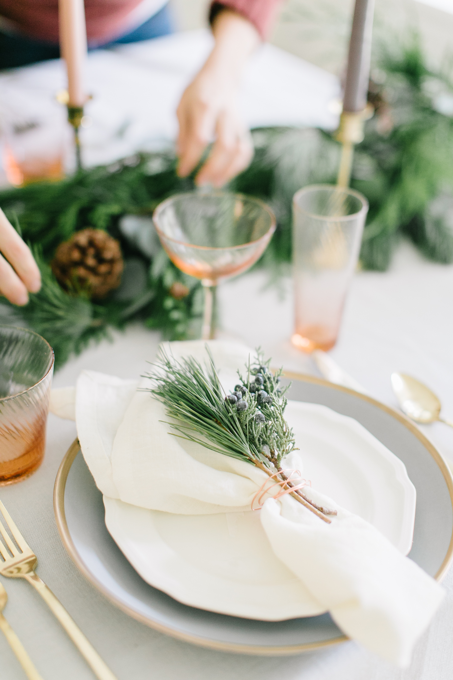 A Traditional Christmas Tablescape Youll Love  Monika Hibbs