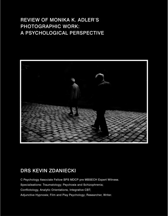 Review Of Monika K. Adler's Photographic Work: A Psychological Perspective, 2013 by Drs Kevin Zdaniecki