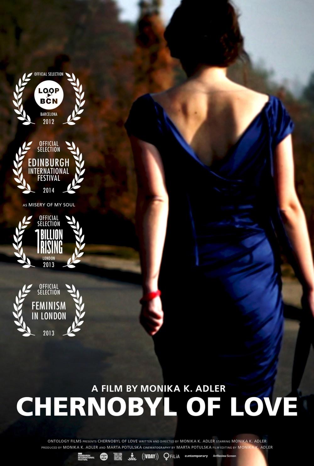 Monika K. Adler, Chernobyl of Love, 2012, film poster, Aeon Rose