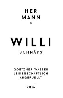 // Hermanns Schnaps   Etikett-Gestaltung/Logogestaltung