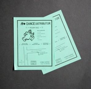 Dance distort flyers