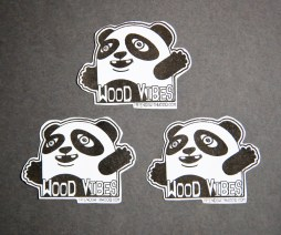 Friends With Wood Stickers