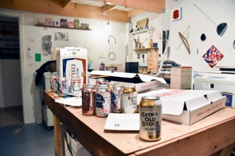VABF 2017 Riso Studio Party