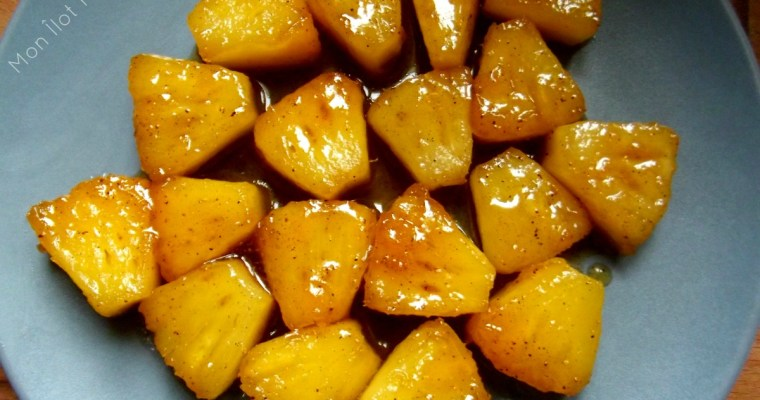 L'Ananas rôti au miel