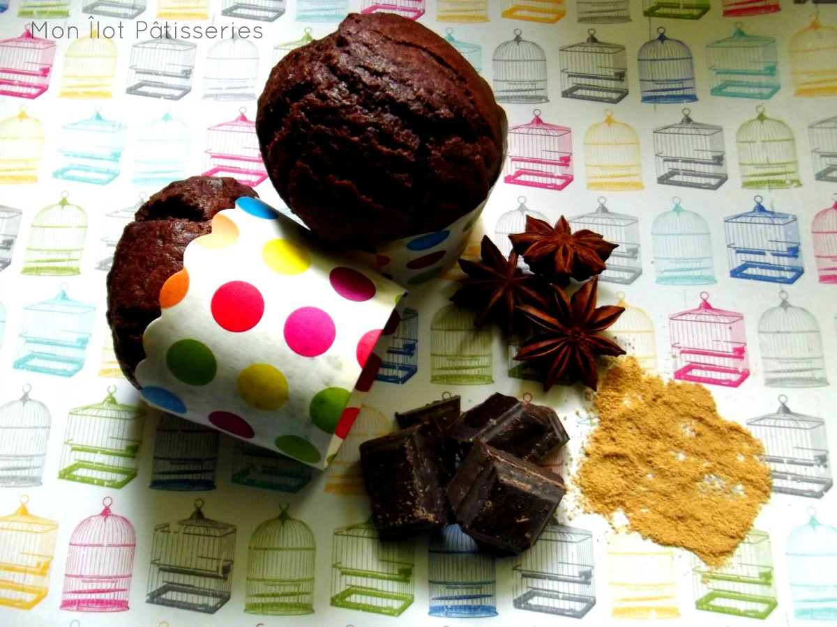 « What a spicy muffin » : Le muffin Chocolat-Gingembre-Badiane