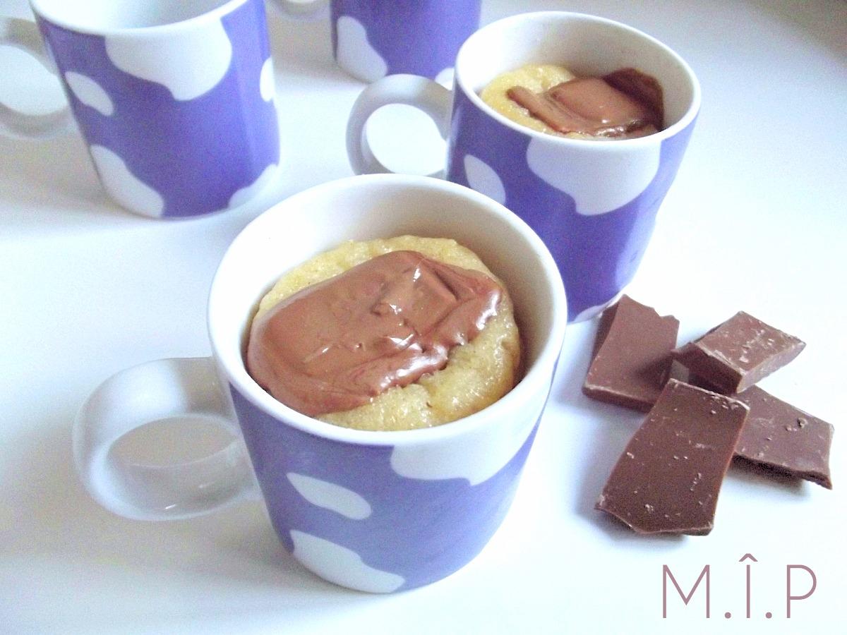 """""""Une Tasse & Un Gâteau"""" : Le Mugcake au fromage blanc et chocolat"""