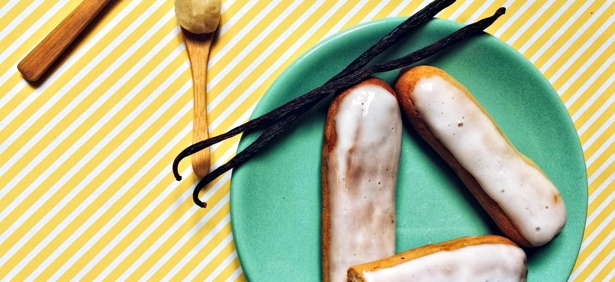 """""""Éclairs & Vanille"""" : Les Éclairs à la vanille"""
