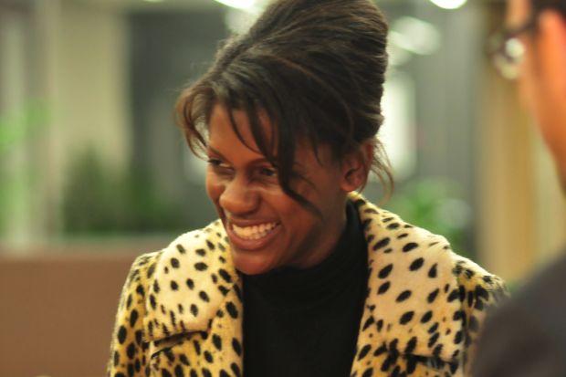 Monique Woodard at Mozilla HQ