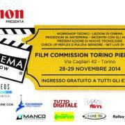 Canon Cinema Show a Torino il 28-29 novembre